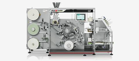 IMA C27 티백 자동화 기계